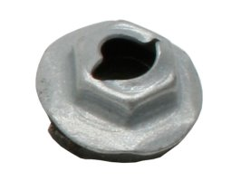 "Speed Nut 1/4"" Stud 7/16"" Hex 11/16"" Washer W/Seal"