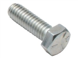 "Bolt Hex HD 5/16""- 18 X 1"" Silver Zinc"