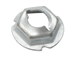 Speed Nut 1/4 Stud 7/16 Hex