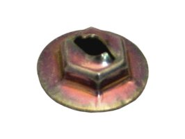 "Speed Hex Nut 1/8"" Flanged"