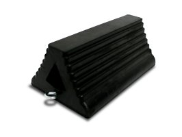 "Wheel Chock 15"" Rubber"