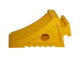 Wheel Chock Rubber Ti(Yellow)