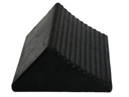 Wheel Chock Rubber Medium 205l X 205w X 105h
